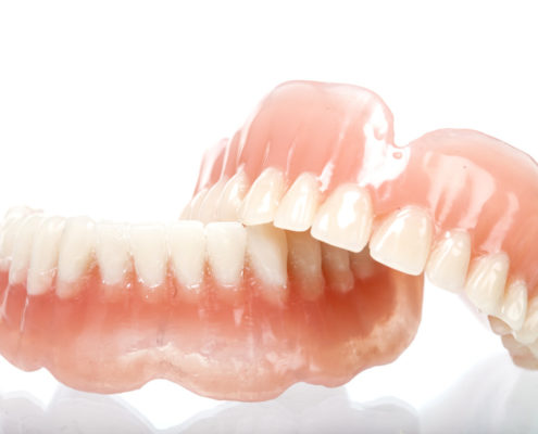 ACRYLIC DENTURE  FULL FRONT SET